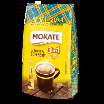 Кофе Mokate 3 в 1 Caramel 24*17гр