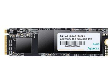 .M.2 NVMe SSD 1,0 ТБ Apacer AS2280P4 [PCIe 3.0 x4, R / W: 3000/2000 МБ / с, 360/360 КБ операций ввода-вывода в секунду, 3D TLC]