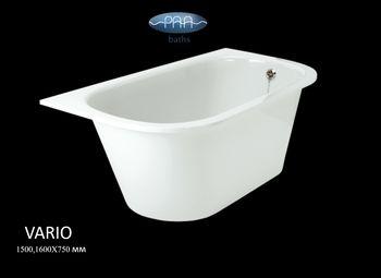 """Каменная ванна VARIO марки P.A.A. - """"фабрика ванн"""""""