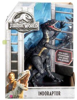 """Figura mărită a dinozaurului """"Indorator periculos"""" din filmul """"Jurassic World 2"""""""