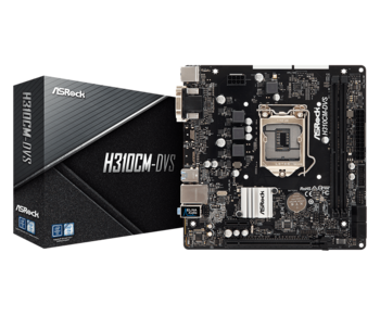 "cumpără ""MB ASRock H310CM-DVS mATX //  CPU Supports 9th and 8th Gen Intel® Core™ Processors"" în Chișinău"