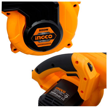 Воздуходувка/пылесос для Листьев, INGCO AB8008 800W