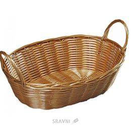 купить Хлебница плетеная  29х18см. Н:13 см. 17836 в Кишинёве