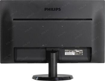 """cumpără 23.6"""" TFT LED Philips 243V5LSB5 Black în Chișinău"""