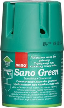 купить Sano Green Контейнер-мыло для сливного бачка (150 г) 935833 в Кишинёве
