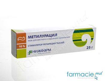 купить Metiluracil ung. 10% 25g (Nijfarm) в Кишинёве