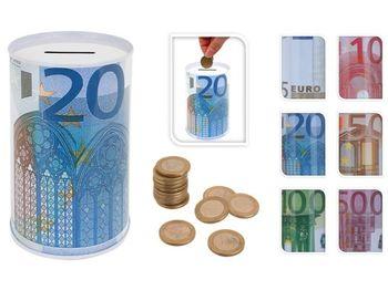 """Pusculita metalica """"Euro"""", 7.5X12cm"""