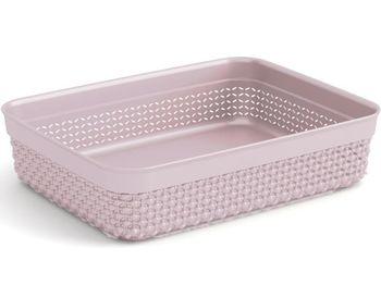Контейнер для хранения Filo A5 25X19X6cm, розовый
