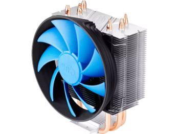"Кулер для процессора DEEPCOOL Cooler ""GAMMAXX 200T"", Socket LGA1156/LGA1155/LGA1151/LGA1150/LGA775-FM2/FM1/AM3+/AM3/AM2+/AM2/940/939/754 ,(18dBA,900-1600RPM,54CFM,Fan 120mm), Hydro Bearing"