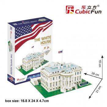 купить CubicFun 3D пазл Белый дом Вашингтон, 65 деталей в Кишинёве