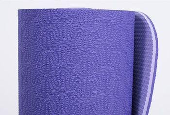 Mat pentru yoga Lotus Pro  PURPLE -6mm
