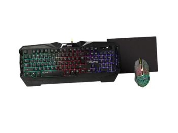 Gaming Keyboard & Mouse & Mouse Pad Qumo Solaris