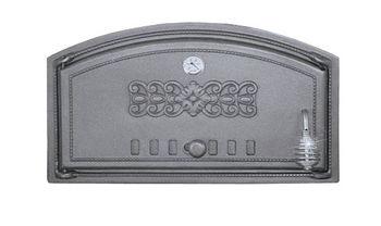 купить Дверца чугунная глухая левая с термометром DCH1T в Кишинёве