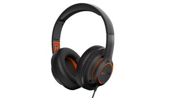 STEELSERIES Siberia 100 / Gaming Headset with High-quality Microphone, Natural Sound, 40mm neodymium drivers, Over-ear Design, Lightweight, Compatibility (PC/Mac/Mobile), Cable lenght 1.2m, 3.5mm jack, Black