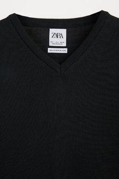Трикотаж ZARA Чёрный zara 0693/311/800