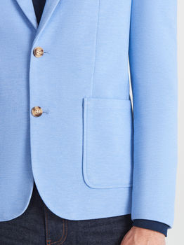 Пиджак RESERVED Голубой
