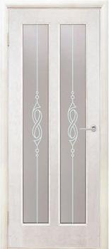 купить Дверь ДИВА белый ясень остекленная в Кишинёве