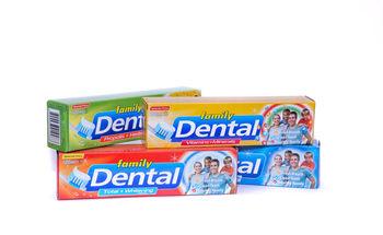 купить Зубная паста DENTAL FAMILY 100 ml  (vit+min.propolis+herbal. total+white. cavity protection) в Кишинёве