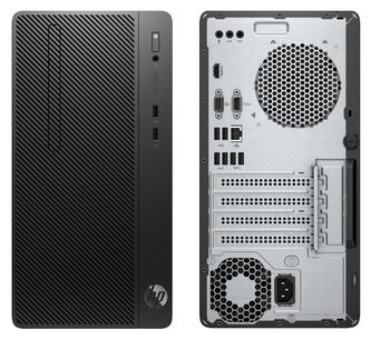купить HP 290 G2 SFF (lntel® Core® i3-9100, 8GB DDR4 RAM, 256GB M.2 PCIe NVMe SSD, DVDRW, Intel® HD 630 Graphics, VGA, HDMI, USB MS&KB, Win 10 Pro, Black) в Кишинёве