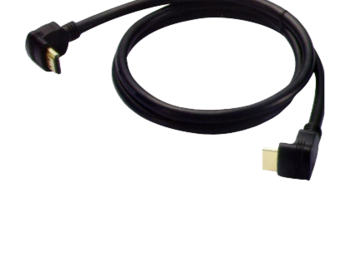 Cable Brateck HM8035-3M Right angle HDMI High Speed 19M-19M V1.4a, gold plated, 3m (cablu HDMI/кабель HDMI)