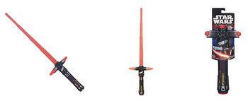 """Раздвижной меч """"Звездные Войны"""" Кайло Рен, код 41771"""