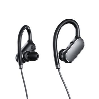 """Xiaomi """"Mi Sport Bluetooth Earbuds"""" EU (stereo), Black, Bluetooth 4.1, 7h play time, Standby 280hrs, Communication distance 10m, IPX4 waterproof, sweat resistant and durable, With ear-hook, anti-drop,  Song Switching, Sweatproof, Voice control"""