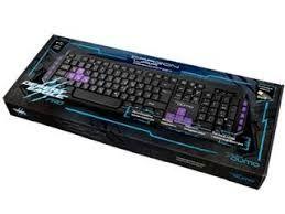 Игровая клавиатура Qumo Desert Eagle Pro, Мультимедиа, 104 + 10 клавиш, Черная, USB
