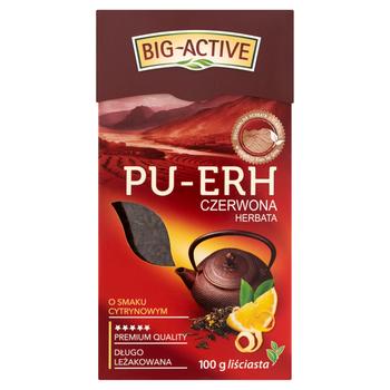купить Чай Big Active Pu-Erh with Lemon, 100 гр в Кишинёве