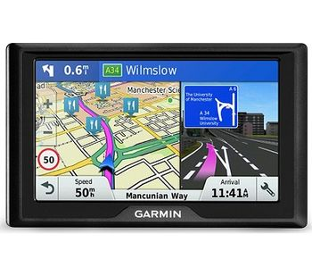 """GARMIN Drive 51 LMT-S, Licence map Europe+Moldova, 5.0"""" LCD (480*272), MicroSD, Garmin Guidance 2.0, Junction view, Lane assist, Foursquare POIs, Lifetime traffic updates, Speaks street names, Trip planner, Battery life up to 1 hours, 170.8g"""