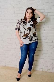 купить Блузка Simona ID 9649 в Кишинёве