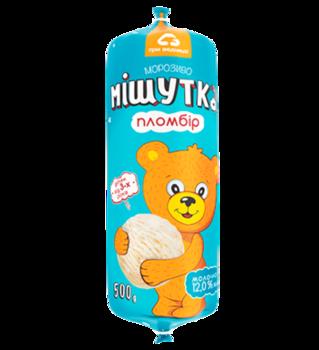 "Мороженое ""МИШУТКА Пломбир"" 500гр"