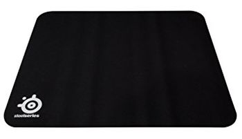 STEELSERIES QcK Mass / Soft Gaming Mousepad, Dimensions: 320 x 270 x 6 mm, Non-slip rubber base, Nearly frictionless surface, Black