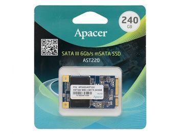 "mSATA SSD  240GB Apacer  ""AP240GAST220-1"""