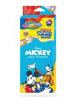 ТЕМПЕРАТУРНЫЕ КРАСКИ 12 цветов COLORINO Disney Mickey Mouse