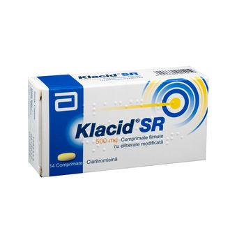 cumpără Klacid SR 500mg comp. film. N14 în Chișinău