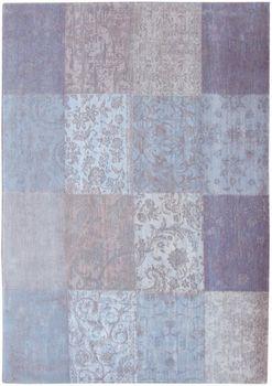 Ковёр ручной работы LOUIS DE POORTERE Cameo Patchwork Lavender 8372