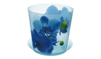 купить Кашпо для орхидеи  ДЕКО d125мм 1,2л с подставкой  М3105 в Кишинёве