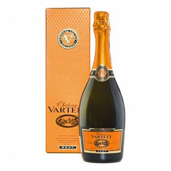 купить Игристое вино белое брют Château Vartely, в индивидуальной коробке, 0,75 л в Кишинёве