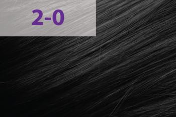 Краска для волос,ACME jNowa Siena CS, 90 мл., 2/0 - черный