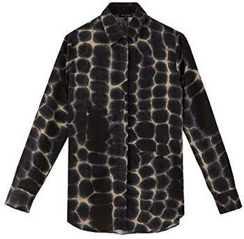 Блуза Massimo Dutti Принт 5125/826/802