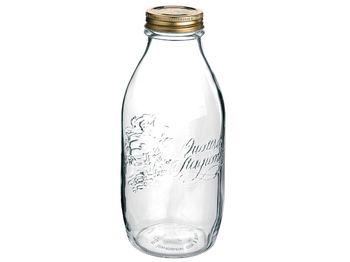 Бутылка для хранения/консервации Q.S. 1l, с крышкой
