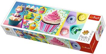 "Пазлы ""1000  Panorama""-""Colorful cupcakes"", код 42188"
