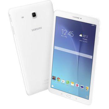 "9.6""  Samsung Galaxy Tab E T560 White, TFT LCD 1280x800, QuadCore 1.3GHz, Mali400, 1.5GB RAM, 8Gb flash drive, 5MP/2MP camera, 5000mAh, MicroSDHC, WiFi, GPS, BT, Android 4.4 KK"