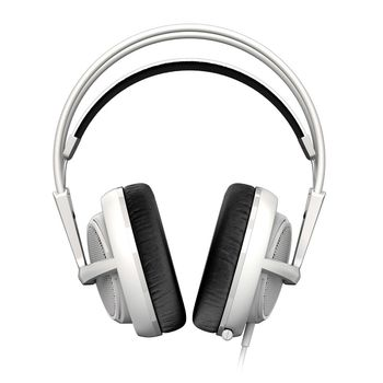 STEELSERIES Siberia 200 / Gaming Headset with retractable Microphone, on the cord volume control, 50mm neodymium drivers, Comfortable, Lightweight, Cable lenght 1.8 m, 3.5mm jack, White