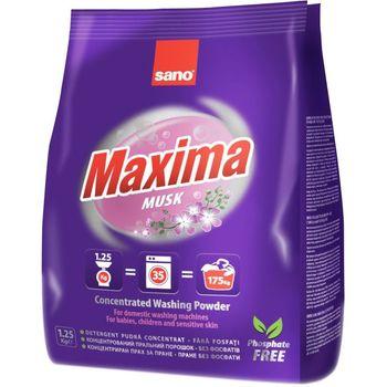 купить Sano Maxima Musk Стиральный порошок (1.25 кг) 288727/991181 в Кишинёве
