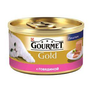 купить Gourmet Gold (паштет с говядиной), 85гр в Кишинёве