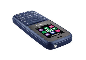 купить Philips E125 Dual Sim,Blue в Кишинёве