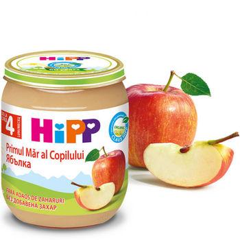 купить Hipp пюре яблоко, 4+мес. 125г в Кишинёве