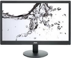 "18.5"" AOC LED E970SWN Black (5ms, 20M:1, 200cd, 1366x768, 90°/65°, VGA, VESA)"