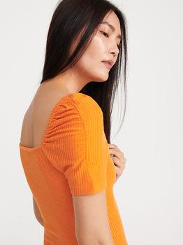 Платье RESERVED Оранжевый vf887